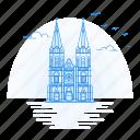architecture, heuvelse, kerk, landmark, monument, tilberg