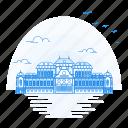 architecture, belvedere, landmark, monument, upper, vienna