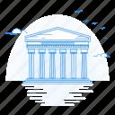 architecture, landmark, monument, pantheon, roman, teemple