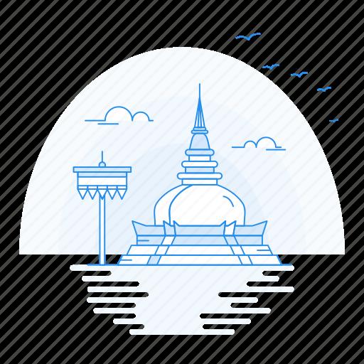 architecture, doi, landmark, monument, suthep icon