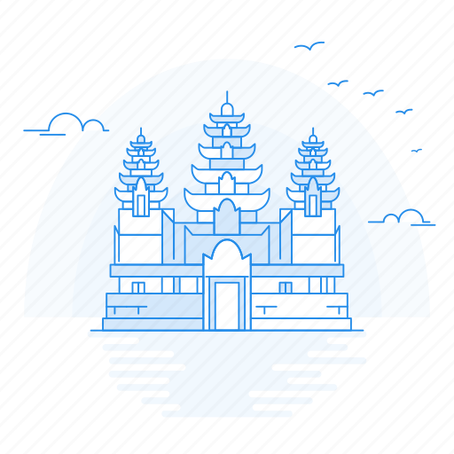 Angkor, archaeological, architecture, landmark, monument icon - Download on Iconfinder