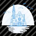 architecture, christ, church, landmark, monument, windhoek icon