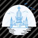 architecture, landmark, monument, swayambhunath