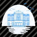 architecture, carided, la, landmark, monument, teatro icon