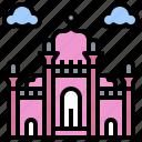 architecture, badshahi, buildings, city, landmark, monuments, mosque icon