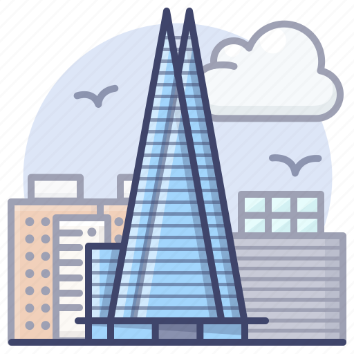london, shard, skyscraper, the icon