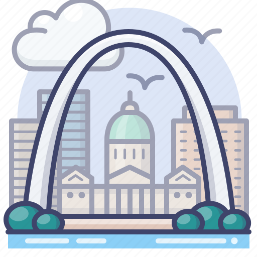 Arch, gateway, national, park icon - Download on Iconfinder