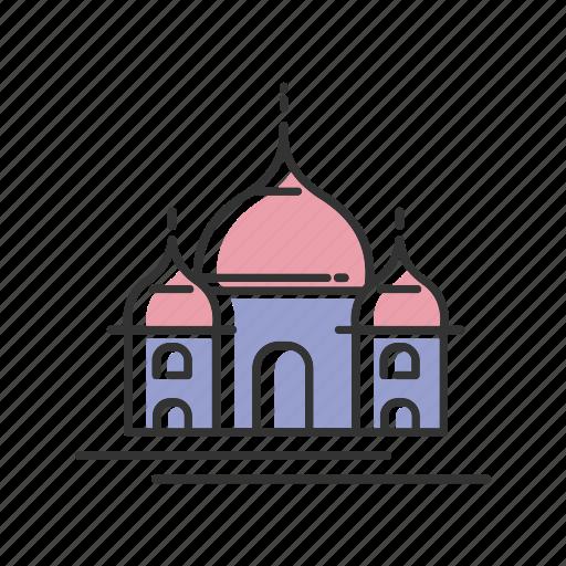 India, landmark, mahal, taj, tourism icon - Download on Iconfinder