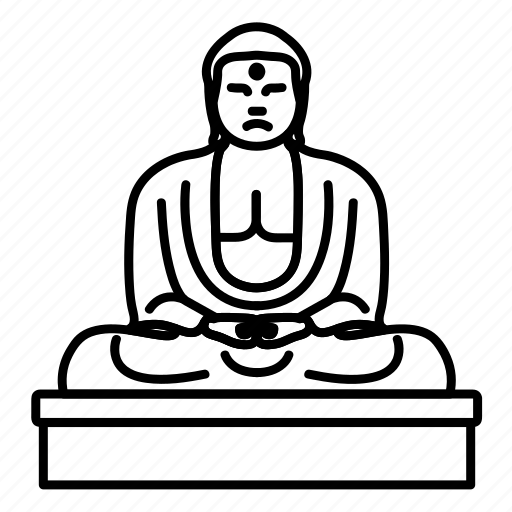 buddha, great, japan, landmark, the, travel, wonder icon