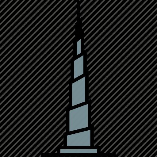 burj, dubai, emirates, khalifa, skyscraper, uae icon