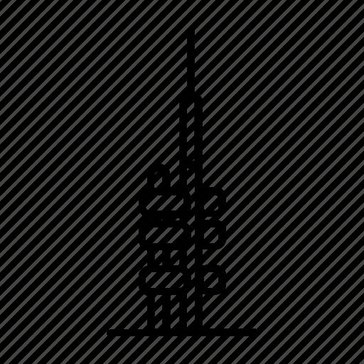 czech republic, czechia, prague, praha, tower, tv, zizkov icon