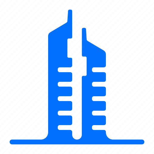 buildings, china, monument, towers icon