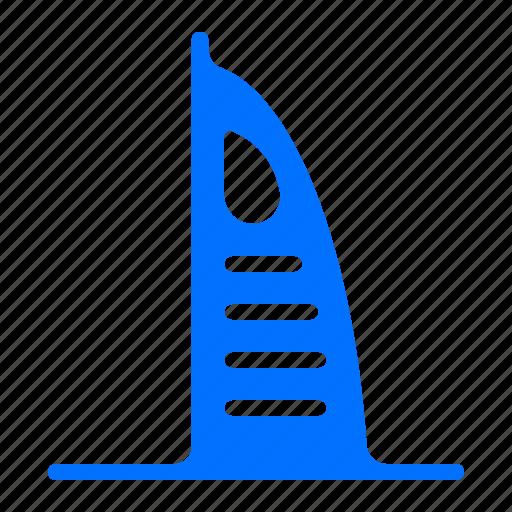 al, arab, burj, monument icon