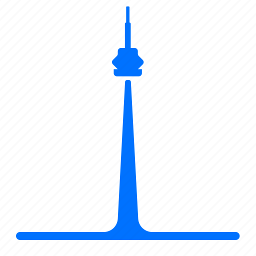 canada, cn, landmark, tower icon