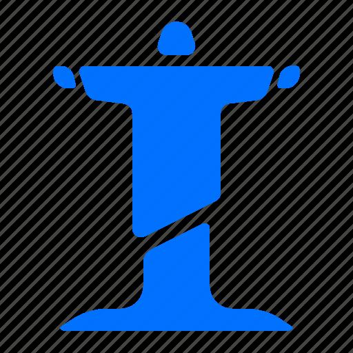 Christ, jesus, landmark, monument icon - Download on Iconfinder