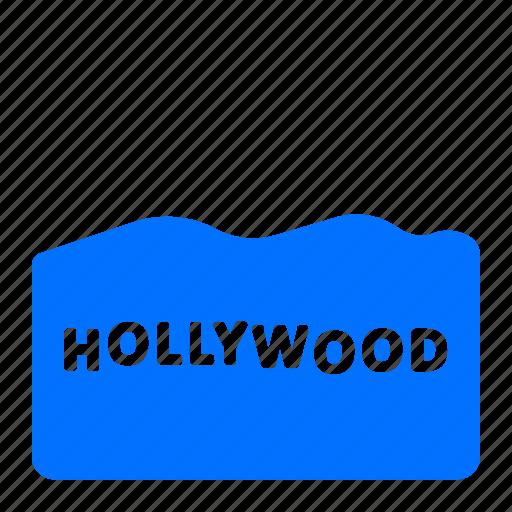 holleywood, landmark, monument, sign icon