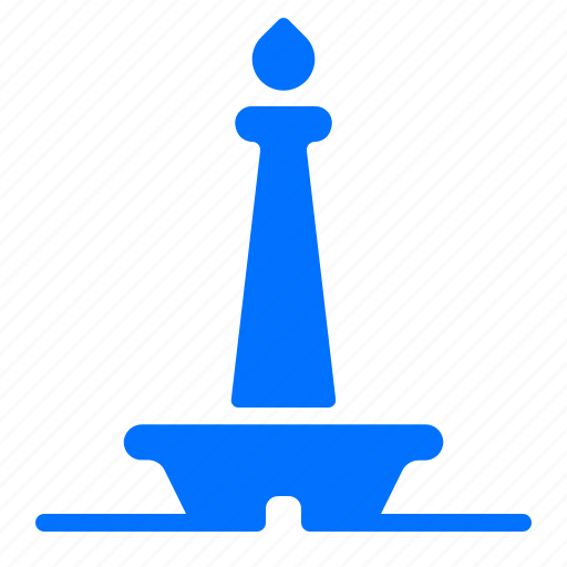 Flame, landmark, torch, tower icon - Download on Iconfinder
