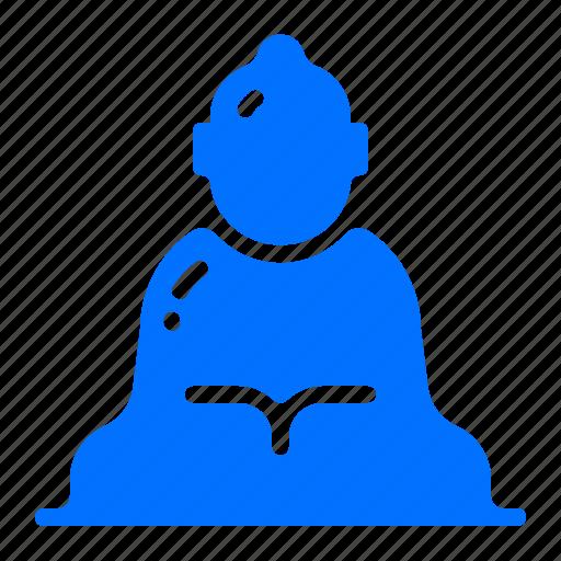 buddha, great, landmark, monument icon