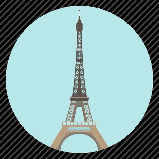eiffel, france, monument, paris, tour eiffel, tower, world monuments icon