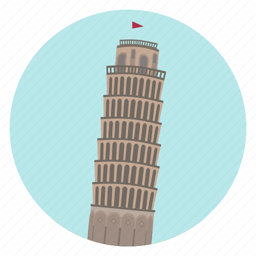 italy, leaning tower, monument, pisa, tuscany, world monuments icon