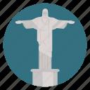 brazil, christ, rio de janeiro, jesus, rio, christ the saviour, monument icon