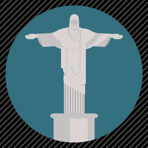 brazil, christ, christ the saviour, jesus, monument, rio, rio de janeiro, world monuments icon