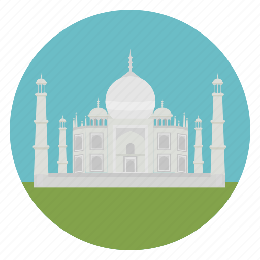 agra, india, monument, taj mahal, world monuments icon