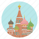 moscow, saint basil, world monuments, red square, cathedral, russia, monument