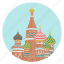 cathedral, monument, moscow, red square, russia, saint basil, world monuments icon