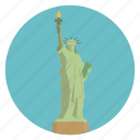 statue of liberty, usa, liberty, new york, world monuments, nyc, monument