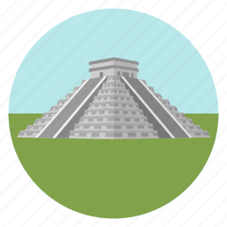 archaeological, archeology, mesoamerican, mexico, monument, pyramid, teotihuacan, world monuments icon