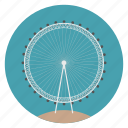 britain, england, eye of london, ferris wheel, london, uk, world monuments icon
