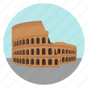 ruins, colosseum, italy, world monuments, rome, international, monument