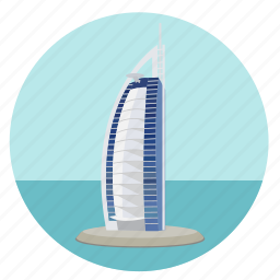 borj el arab, borj el khalifa, burj el khalifa, dubai, emirates, monument, uae, world monuments icon