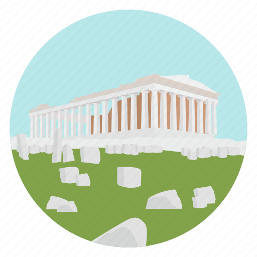 acropolis, ancient, athens, greece, monument, world monuments icon