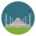 istanbul, monument, mosque, sultan ahmed, turkey, world monuments icon