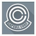 capsule, capsule corporation, corporation, dragon ball icon