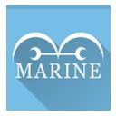 marine, one piece icon