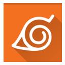 konoha, naruto icon