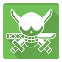 one piece, roronoa zoro icon