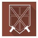 shinkgeki no kyojin, squad, trainees, trainnes squad icon
