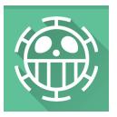 one piece, trafalgar law icon