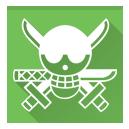 one piece, roronoa zoro icon