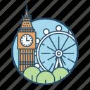 british, city, famous building, kingdom, landmark, london, tower