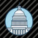 american, capital, famous building, government, landmark, states, washington d.c icon