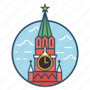 cityscape, famous building, landmark, moscow, moscow building, red square, russia icon