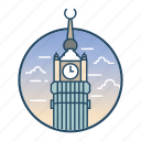 abraj, abraj al bait hotel, famous building, hotel, landmark, royal, saudi arabia icon