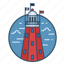 beacon, famous building, landmark, lighthouse, monument, nautical, portland