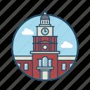 america, dome, famous building, government, landmark, pennsylvania, philadelphia
