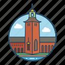 crown, europe, famous building, landmark, scandinavia, stockholm, sweden